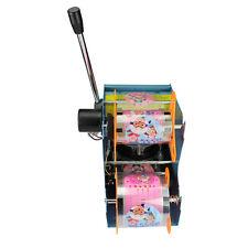 220V Electric Automatic Tea Cup Sealer Sealing Machine Bubble 450 Cups/hr 300W
