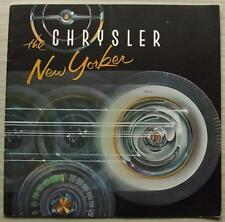 CHRYSLER NEW YORKER USA Sau car sales brochure 1956 St Regis Newport Convertible