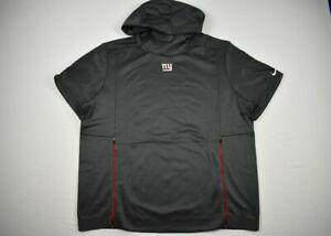 New York Giants Nike Sweatshirt Men's Gray Short Sleeve NEW Multiple Sizes