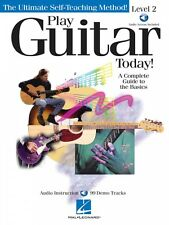 Play Guitar Today Level 2 - A Complete Guide to the Basics Instruction 000696101