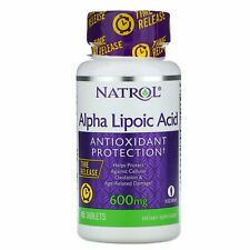 Alpha Lipoic Acid, Time Release, 600 mg, 45 Tablets
