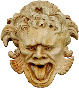 Mascherone terracotta Villa Altoviti- Terracotta Large Mask Villa Altoviti 12420