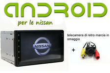 Autoradio Navigatore GPS Nissan Qashqai JUKE  ANDROID 5.1 WiFi Touch capaciti