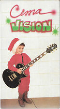 CEMA VISION Christmas 1990 Promo VHS Cocteau Twins McCartney Osmond Poison +30