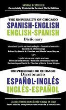 The University of Chicago Spanish-English Dictionary, 6th Edition (2013,...