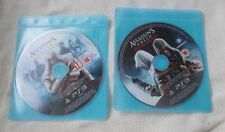 Sony PS3 Games - Assassins Creed - Revelations / Brotherhood - Discs Only - Play