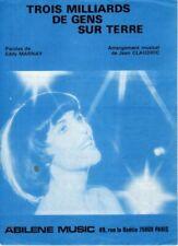 MIREILLE MATHIEU - 3 MILLIARDS DE GENS SUR TERRE - 1982 - BON ETAT