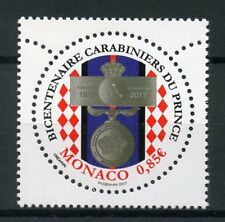 Monaco 2017 MNH Palace Guards Corps of Prince Bicent 1v Set Military Stamps