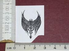 kleines FLEDERMAUS Symbol Stempel Kinderstempel Motivstemel Stempelplatte SELTEN