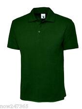 Kids Polo T Shirt Pique Age 2 - 13 School P.E / Uniform