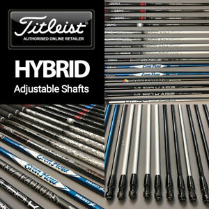 Titleist Custom Graphite Hybrid Shafts Fits Models: 913, 915, 816, 818, TS, TSi