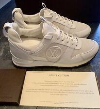 Louis Vuitton Authentic Run Away Rare White  Sneakers Trainers  EU 38.5 UK 5.5-6
