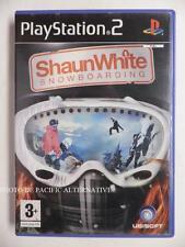 COMPLET jeu SHAUN WHITE SNOWBOARDING playstation 2 PS2 en francais spiel juego