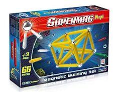 Supermag maxi ,Gioco Costruzioni Magnetiche 66 pz  *00133 made in italy