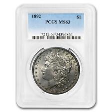 1892 Morgan Dollar MS-63 PCGS (Toned) - SKU#171773