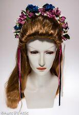 Renaissance Floral & Ribbon Headband Assorted Color Pretty Costume Accessory