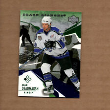 2003-04 Black Diamond Green #81 Adam Deadmarsh 002/100