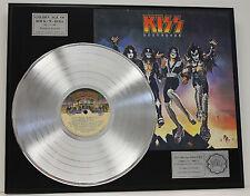 Kiss - Platinum Album LP Rare Limited Edition - Destroyer - USA Ships Free