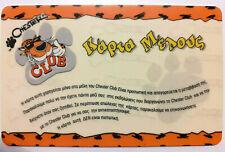Rare old cheetos card member club