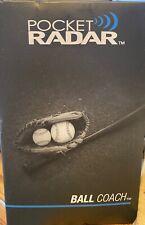 Pocket Radar Ball Coach Professional Level Radar Gun. Brand New! PR1000-BC