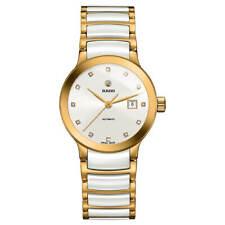 Rado Women's Watch Centrix Diamond White Dial Two Tone Bracelet R30080752