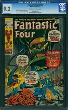 Fantastic Four 108 CGC 9.2 -- 1971 -- Nega-Man, Annihilus. A+ center #0930561002