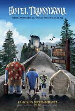 HOTEL TRANSYLVANIA(2012) 4ft x 5.5ft Movie Banner- Bus Shelter/Subway - Sandler