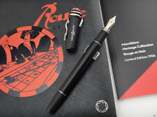 MONTBLANC Heritage Collection Rouge et Noir Limited Edition 1906 Fountain Pen B