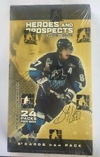 2005-06 Heroes and Prospects Hockey Factory Sealed Hobby Box - Crosby Auto RC?