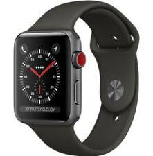 Montres connectées noirs Apple Watch Series 3