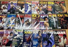 Inside Karate Magazine lot of 23 1990s and few from late 80s