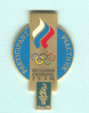1996 ATLANTA SUMMER OLYMPIC RUSSIAN TEAM PARTICIPATION PIN