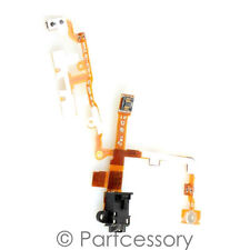 OEM BLACK Headphone Audio Jack Volume Power Switch Flex Cable For iPhone 3G 3GS