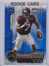 Michael VICK 2001 Quantum Leaf ROOKIE CARD Foil Premium RC Va Tech #7 EAGLES