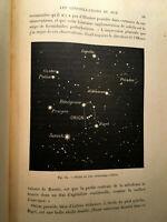 1897 CAMILLE FLAMMARION MERVEILLES CELESTES*** CARTONNAGE ASTRONOMIE LIVRE BOOK