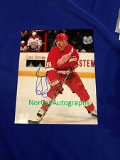 Detriot Red Wings Brendan Shanahan Hand Signed 8x10 Photo Autograph