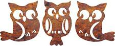 DXF CNC dxf for Plasma Router Vector 3 Yard Owl stakes Man Cave Yard  Plasmacam