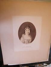 """Galerie Bonaparte """"Marie Julie Clary Reine de Naples"""" /Publié par E. Glaeser"""
