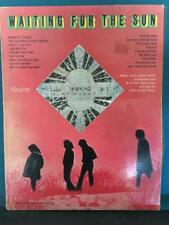 DOORS WAITING FOR THE SUN~RARE 1969 SONGBOOK SPECIAL EDITION for GUITAR w/PHOTOS