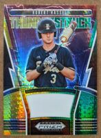 Robert Hassell - Padres GREEN PRIZM SP 🔥💎 2020 Prizm Draft Picks #TH-4 MINT