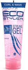 ECO STYLER CURL AND WAVE STYLING HAIR GEL FIRM HOLD PINK TUBE 9 FL. OZ.