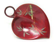 Maruni Footed Lacquerware Dish 6