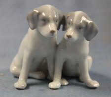 Jack russel terrier Hund hundefigur porzellanfigur Pfeffer Gotha figur pointer