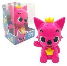 PINKFONG Coin Bank Moneybox Children Savings Habit Toy Figure Cute Deco Pink Fox
