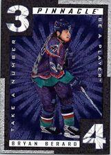1997-98 Be A Player Take A Number #TN9 Bryan Berard