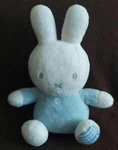 "Miffy 9"" Baby Blue Rabbit Plush Soft Toy"