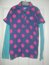 Mini Boden Spotted Long Sleeve Girls' T-Shirts & Tops (2-16 Years)
