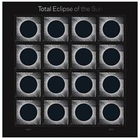 2017  Total Eclipse of the Sun.  Full Sheet MNH.