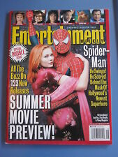 KIRSTEN DUNST TOBY MAGUIRE  Entertainment  Magazine April 26, 2002 spider-man