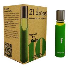 21 Drops 10 CALM Essential Oil Blend 0.27 oz